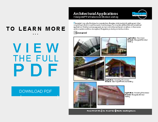 FRP Architectural Applications