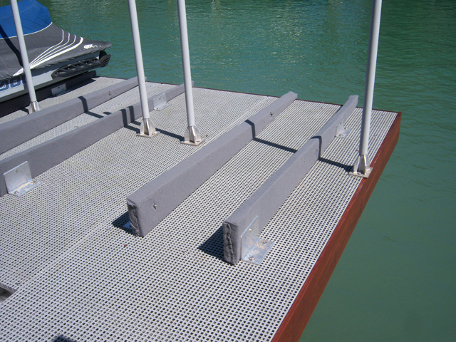 F R P MicroMesh Molded Grating Dock