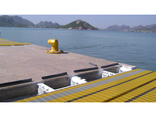 G R P Pultruded Decking
