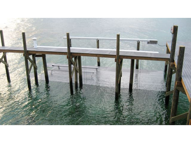 Fiberglass Reinforced Plastic Corrosion Resistant Boat Lift and Dock