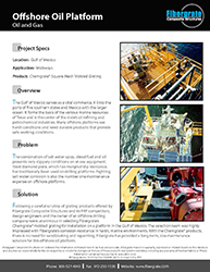 Offshore Platform - Oil and Gas FRP Product Solutions