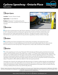 Cyclone Speedway - Recreation FRP Product Solutions