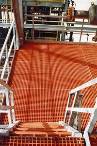 GRP Orange Molded Grating PPG